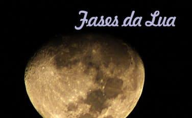 Fases atual da Lua