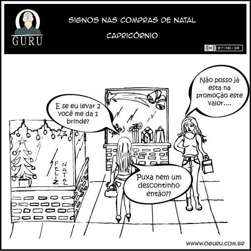 Como as pessoas do signos de Capricórnio se comportam nas compras.