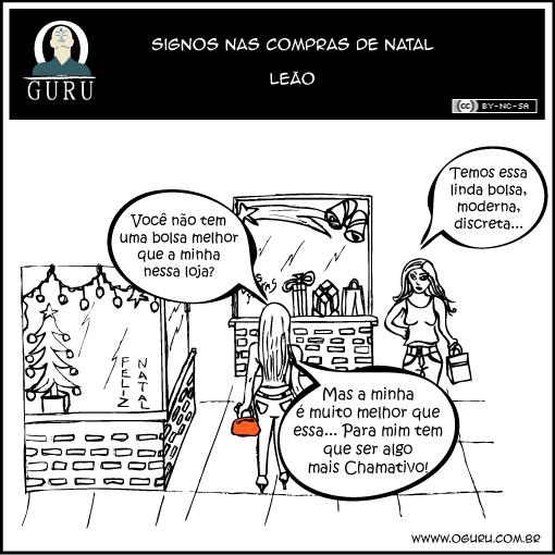 Como as pessoas do signos de Leão se comportam nas compras.